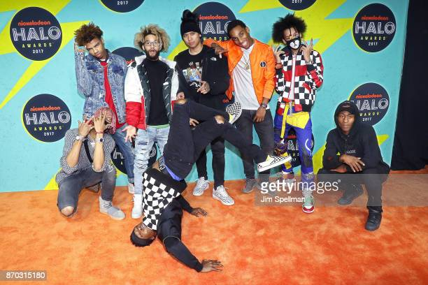 Ayo Bowles and Mateo Bowles from Ayo Teo attend the Nickelodeon Halo Awards 2017 at Pier 36 on November 4 2017 in New York City