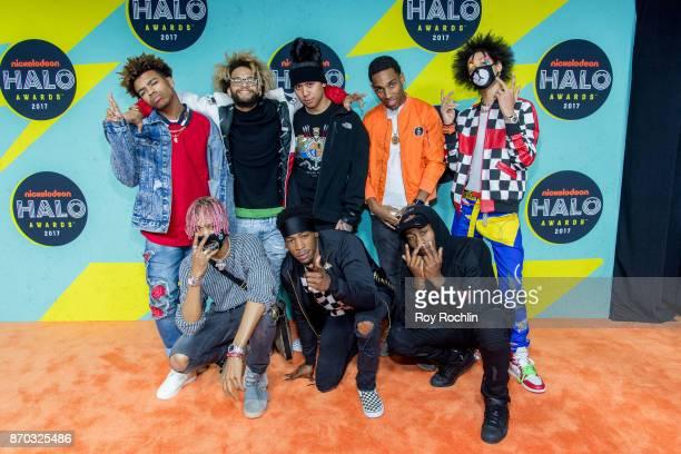Ayo Bowles and Mateo Bowles of Ayo Teo attend the 2017 Nickelodeon Halo Awards at Pier 36 on November 4 2017 in New York City