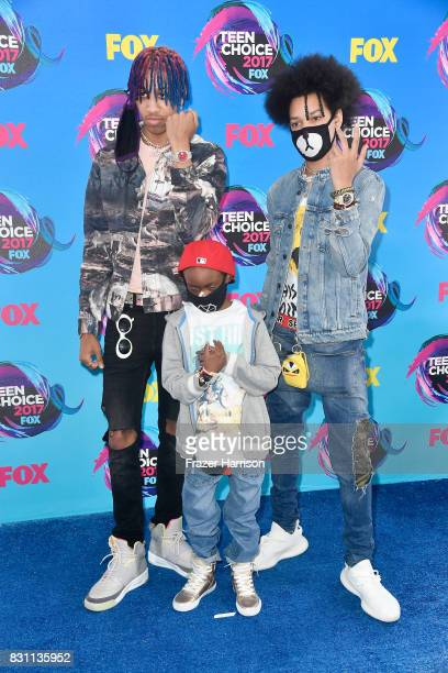 Ayo Teo attend the Teen Choice Awards 2017 at Galen Center on August 13 2017 in Los Angeles California