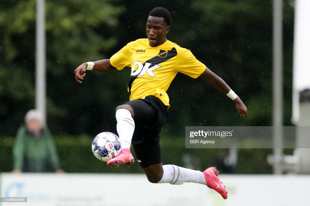 Ayouba Kosiah of NAC Breda during the Pre Season Friendly match... News  Photo - Getty Images