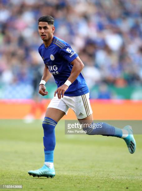 Ayoze Perez of Leicester City during the Pre-Season Friendly match between Leicester City and Atalanta at The King Power Stadium on August 02, 2019...