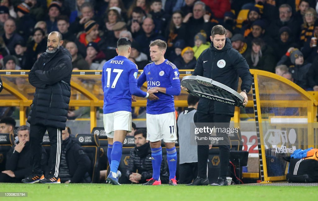 Wolverhampton Wanderers v Leicester City - Premier League : News Photo