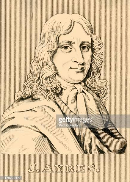 J Ayres' 1830 John Ayres English author scribe and publisher knighted in 1689 lord mayor of London 169394 From Biographical Illustrations by Alfred...
