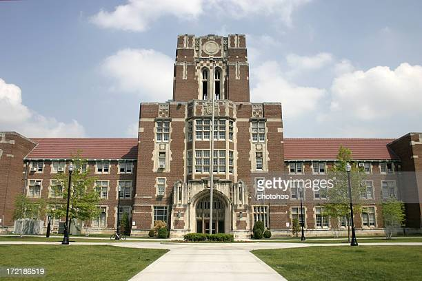 ayres hall - university of tennessee - knoxville tennessee stock pictures, royalty-free photos & images