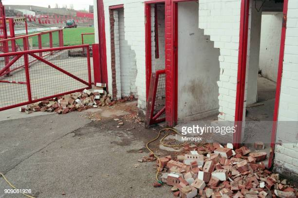 Ayresome Park the home of Middlesbrough FC which is due to be demolished following the clubs move to their new stadium 13th May 1996