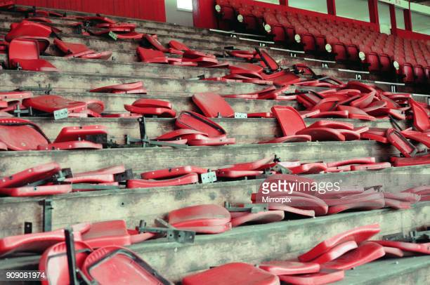 Ayresome Park, the home of Middlesbrough F.C which is due to be demolished following the clubs move to their new stadium, 13th May 1996.