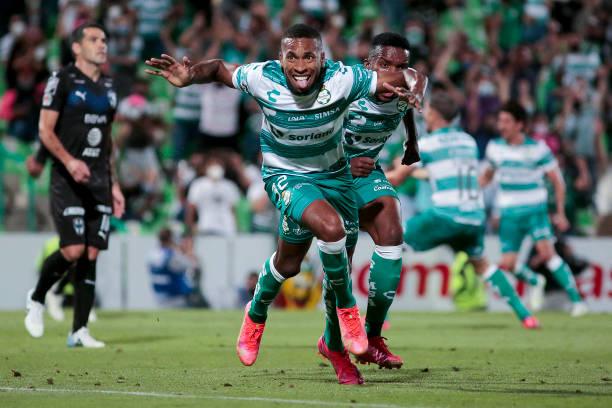 MEX: Santos Laguna v Monterrey - Playoffs Torneo Guard1anes 2021 Liga MX