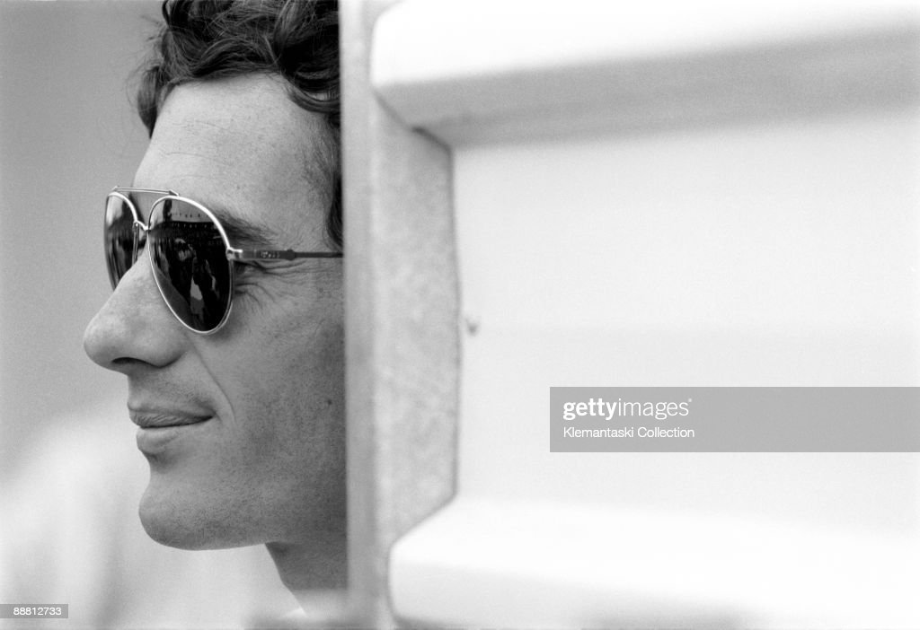 Ayrton Senna. A portrait of the incredibly talented World Champion who was killed at Imola in 1994.