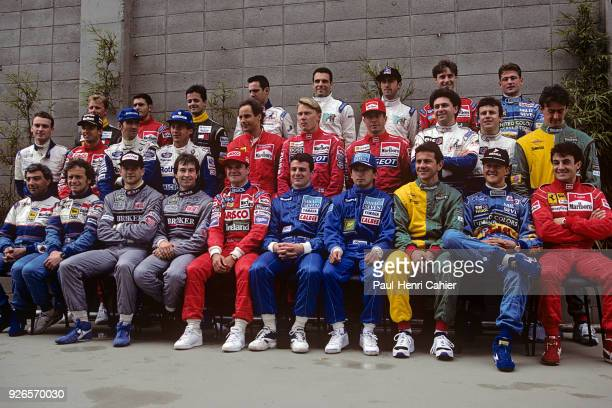 Ayrton Senna Damon Hill Mika Hakkinen Michael Schumacher Jean Alesi Gerhard Berger Johnny Herbert Eddie irvine Michele Alboreto Heinz Harald Frentzen...