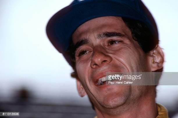 Ayrton Senna Grand Prix of Austria Zeltweg 16 August 1987