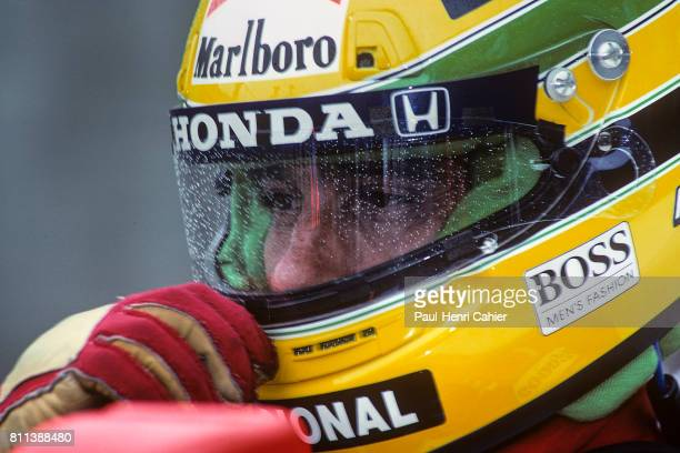 Ayrton Senna, Grand Prix of Brazil, Interlagos, 24 March 1991.