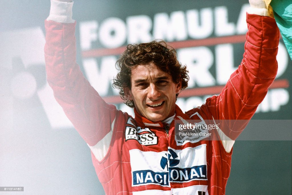 Ayrton Senna, Grand Prix Of Brazil : News Photo