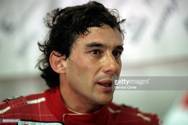 Ayrton Senna Grand Prix of Germany Hockenheimring 25 July 1993