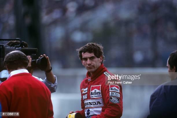 Ayrton Senna, Grand Prix of Japan, Suzuka, 22 October 1989.