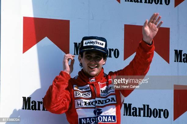 Ayrton Senna, Grand Prix of Mexico, Hermanos Rodriguez, 28 May 1989.