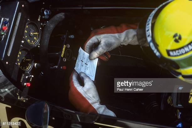 Ayrton Senna Grand Prix of Spain Jerez 13 April 1986