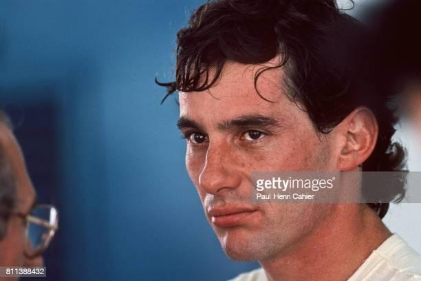 Ayrton Senna Grand Prix of Spain Jerez 30 September 1990