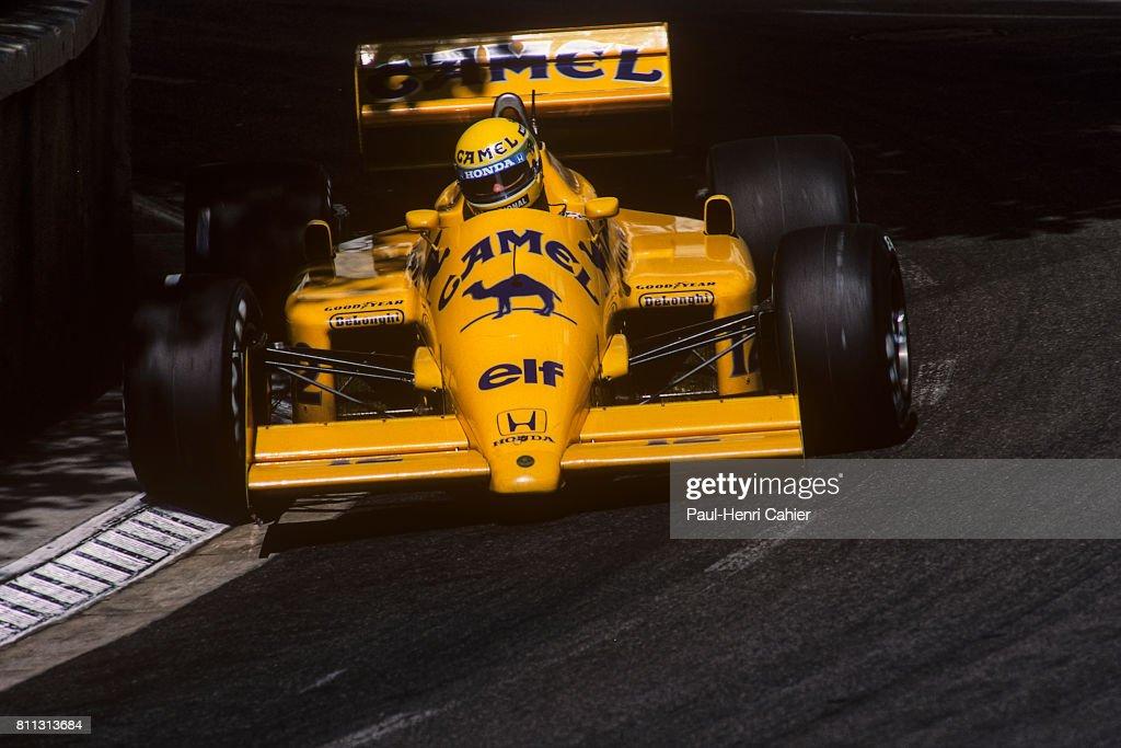 Ayrton Senna, Grand Prix Of Monaco : News Photo