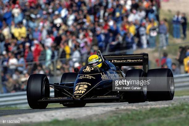 Ayrton Senna LotusRenault 97T Grand Prix of Canada Circuit Gilles Villeneuve 16 June 1985