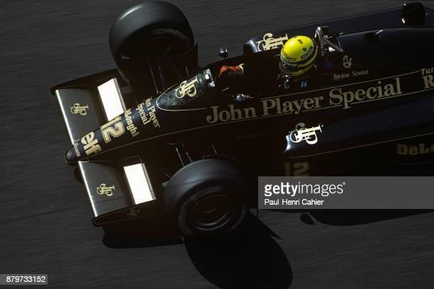Ayrton Senna LotusRenault 97T Grand Prix of Monaco Circuit de Monaco 19 May 1985