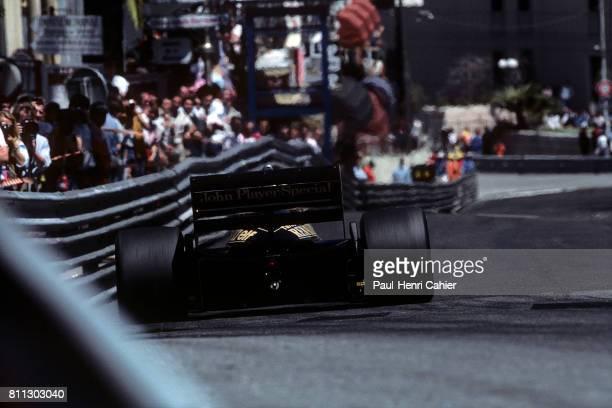 Ayrton Senna, Lotus-Renault 97T, Grand Prix of Monaco, Monaco, 19 May 1985.