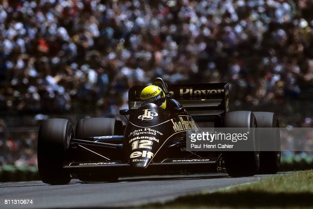 Ayrton Senna LotusRenault 98T Grand Prix of Canada Circuit Gilles Villeneuve 15 June 1986