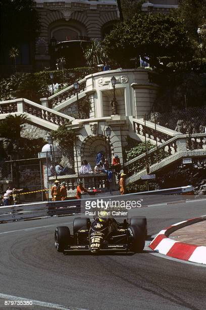 Ayrton Senna LotusRenault 98T Grand Prix of Monaco Circuit de Monaco 11 May 1986