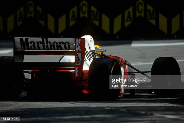 Ayrton Senna McLarenFord MP4/8 Grand Prix of Monaco Monaco 23 May 1993