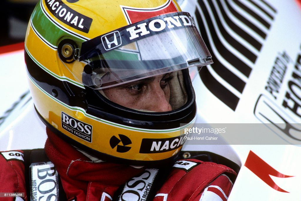 ayrton senna mclaren honda mp4 4 grand prix of hungary news photo getty images. Black Bedroom Furniture Sets. Home Design Ideas