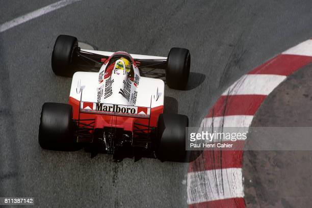 Ayrton Senna McLarenHonda MP4/4 Grand Prix of Monaco Monaco 15 May 1988