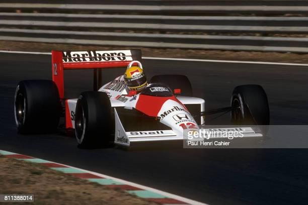 Ayrton Senna, McLaren-Honda MP4/4, Grand Prix of Portugal, Estoril, 25 September 1988.