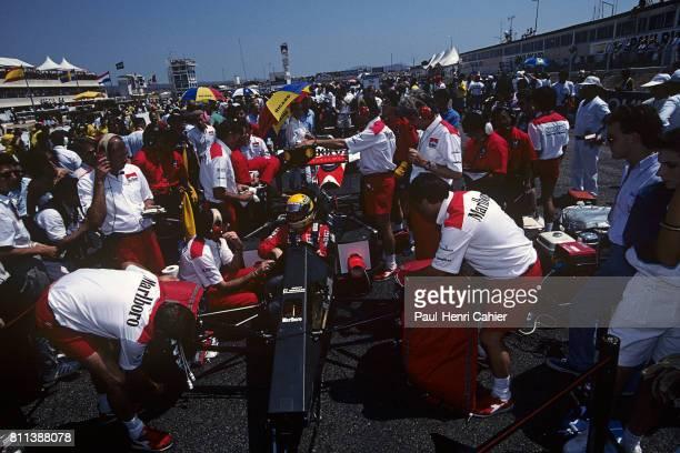 Ayrton Senna, McLaren-Honda MP4/5, Grand Prix of France, Paul Ricard, 09 July 1989.
