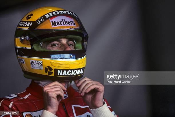 Ayrton Senna, McLaren-Honda MP4/5B, Grand Prix of Japan, Suzuka Circuit, 21 October 1990.