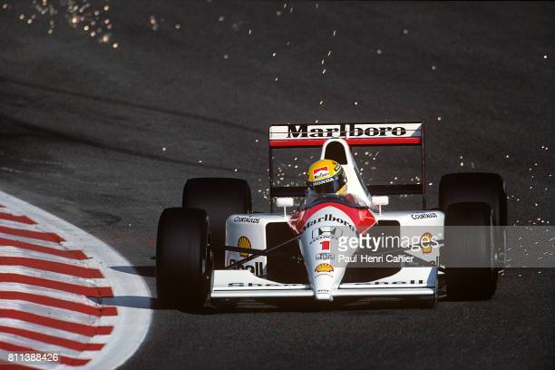 Ayrton Senna McLarenHonda MP4/6 Grand Prix of Belgium SpaFrancorchamps 25 August 1991