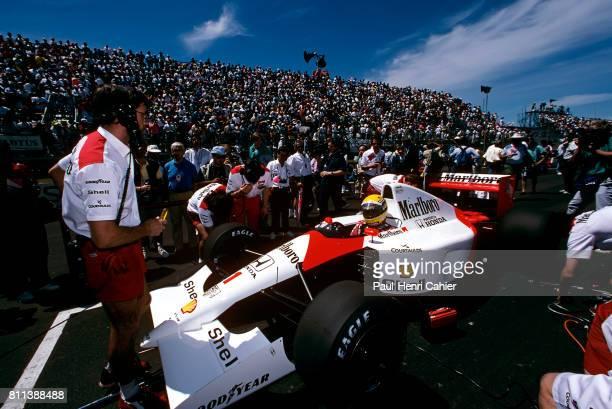 Ayrton Senna, McLaren-Honda MP4/6, Grand Prix of Canada, Circuit Gilles Villeneuve, 02 June 1991.
