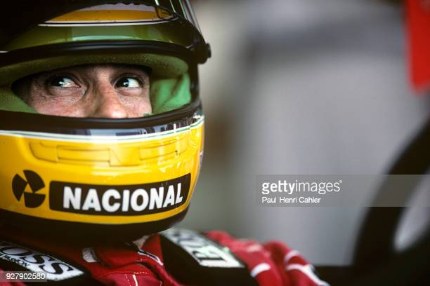 Ayrton Senna McLarenHonda MP4/6 Grand Prix of France Circuit de Nevers MagnyCours 07 July 1991