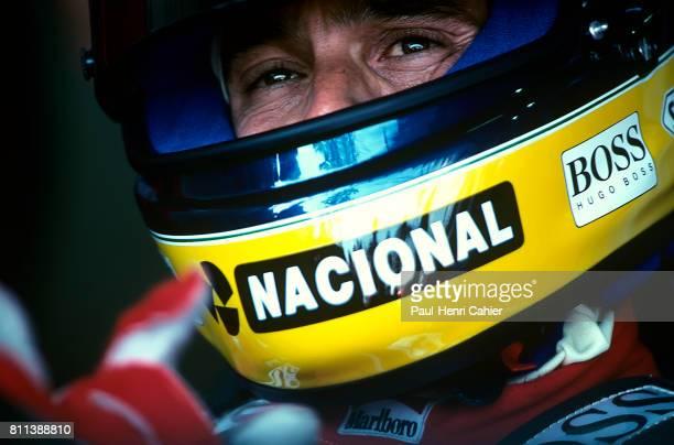 Ayrton Senna McLarenHonda MP4/7A Grand Prix of Brazil Interlagos 05 April 1992