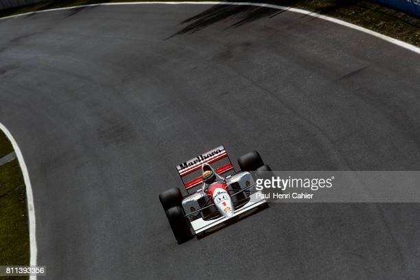 Ayrton Senna McLarenHonda MP4/7A Grand Prix of Canada Circuit Gilles Villeneuve 14 June 1992