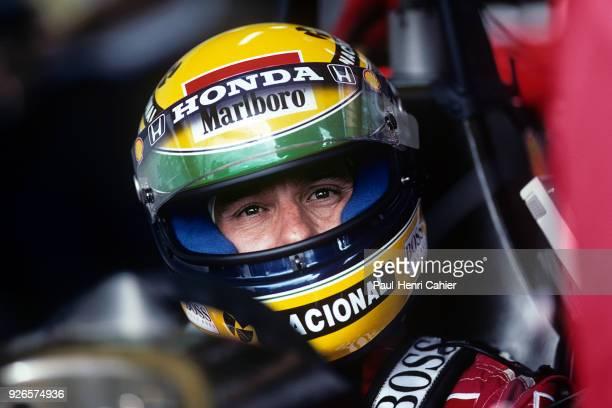 Ayrton Senna McLarenHonda MP4/7A Grand Prix of France Circuit de Nevers MagnyCours 05 July 1992
