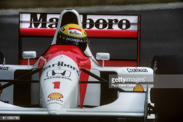 Ayrton Senna McLarenHonda MP4/7A Grand Prix of Japan Suzuka 25 October 1992