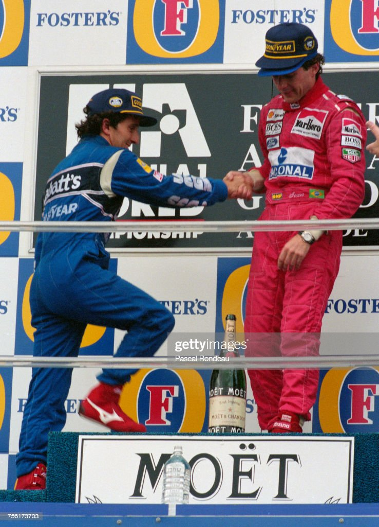 7 November 1993 saw F1 legend Ayrton Senna's last race victory, and a moment of public reconciliation with once bitter rival Alain Prost