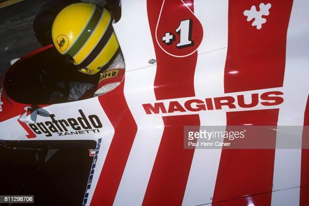 Ayrton Senna, Toleman-Hart TG184, Grand Prix of Portugal, Estoril, 21 September 1984.