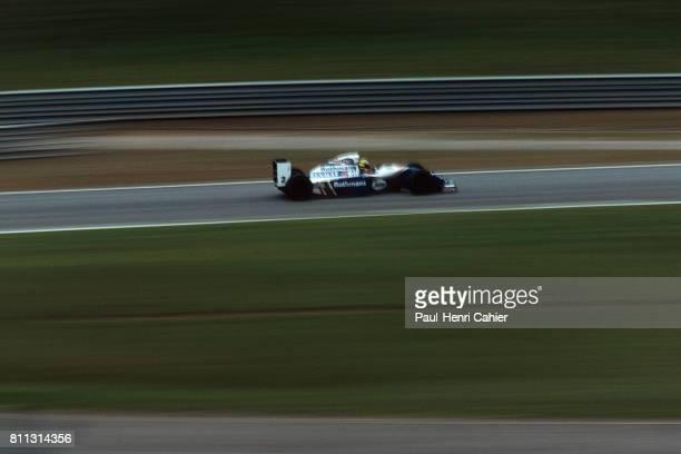 Ayrton Senna WilliamsRenault FW16 Grand Prix of Brazil Interlagos 27 March 1994