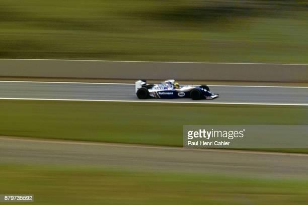 Ayrton Senna WilliamsRenault FW16 Grand Prix of Pacific Okayama International Circuit 17 April 1994