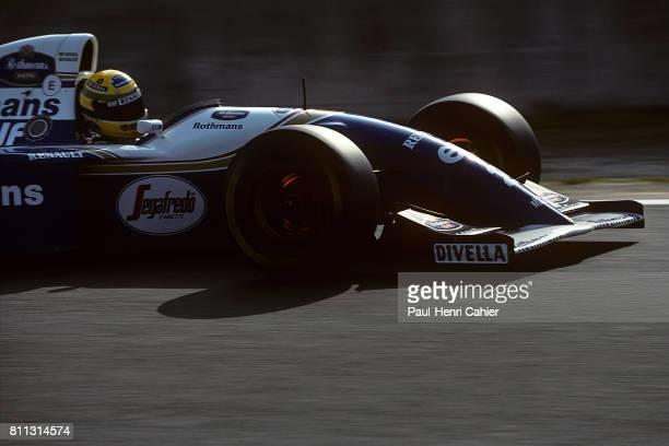 Ayrton Senna WilliamsRenault FW16 Grand Prix of Pacific TI Circuit Aida 17 April 1994
