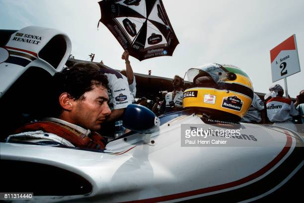Ayrton Senna WilliamsRenault FW16 Grand Prix of San Marino Imola 01 May 1994