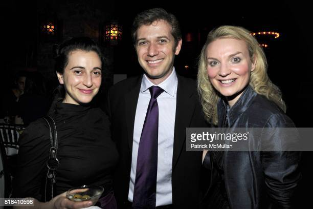Aysan «elik Aaron Kisner and Alyse Nelson attend VITAL VOICES Event at The Bowery Hotel on January 19 2010 in New York City