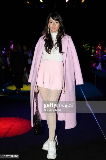 Ayse Akin attends the Exquise show during MercedesBenz Fashion Week Istanbul March 2019 at Zorlu Center on March 22 2019 in Istanbul Turkey