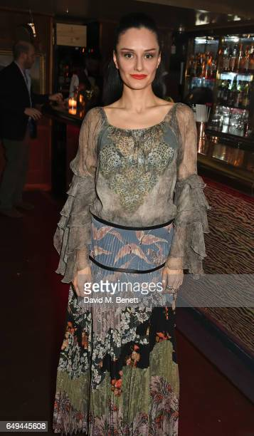 Aytan Eldarova attends the Lady Garden VIP pub quiz in support of the Gynaecological Cancer Fund at Albert's Club on March 7 2017 in London England
