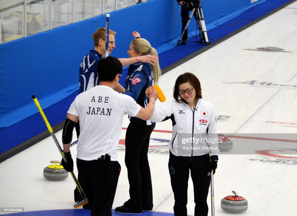 World Mixed Doubles Curling Championship - Day 6